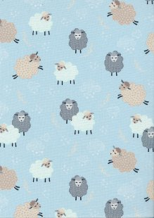 Kanvas Studio - Sweet Dreams Dreamy Sheep Blue 7782 Col 5