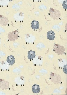 Kanvas Studio - Sweet Dreams Dreamy Sheep Cream 7782 Col 3