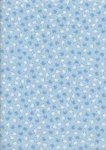 Kanvas Studio - Sweet Dreams Tiny Tossed Sheep Blue 7786 Col 5