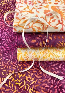 Kingfisher Bali Batik - 4 x Fat 1/4 Pack 16