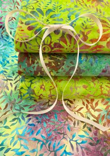 Kingfisher Bali Batik - 4 x Fat 1/4 Pack 26