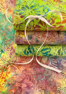 Kingfisher Bali Batik - 4 x Fat 1/4 Pack 28