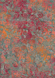Kingfisher Bali Batik - SSW20-8-19 Brown