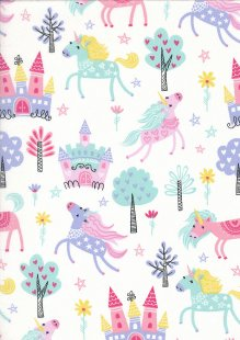 Kingfisher Fabrics - The Kids Are Alright Multi 49703