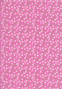 Kingfisher Fabrics - The Kids Are Alright Pink 49708