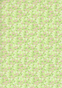 Kingfisher Fabrics - The Kids Are Alright Green 49708