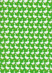 Kingfisher Fabrics - The Kids Are Alright Green 49701