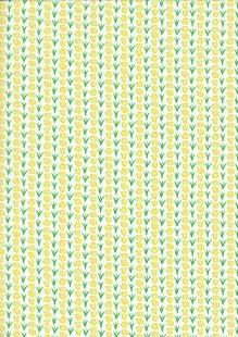 Kingfisher Fabrics - The Kids Are Alright Green/Yellow 49702