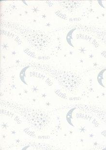 Kingfisher Fabrics - The Kids Are Alright Gray 49698