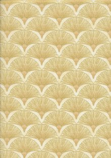 Leesa Chandler - Melba Fan Cream/Gold 0005 11