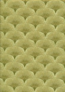 Leesa Chandler - Melba Fan Green/Gold 0005 10