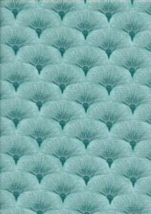 Leesa Chandler - Melba Fan Teal/Silver 005 14