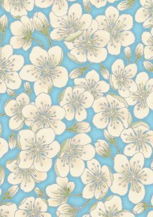 Leesa Chandler - Summer Palace Blossom Blue 0023-24