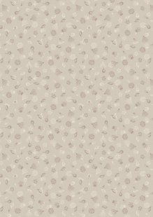 Lewis & Irene - Botanic Garden A454.1 Garden seeds on dark cream
