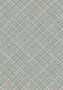 Lewis & Irene - Celtic Blessings A238.1 - Soft Green Check