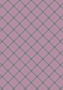 Lewis & Irene - Celtic Reflections A338.3 Purple check with gold metallic