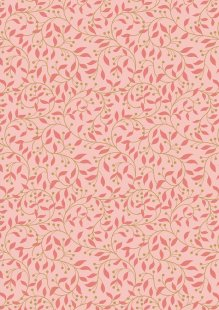 Lewis & Irene - Chieveley A243.2 - Garland Swirl On Pink