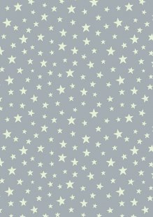 Lewis & Irene - Christmas Glow C48.1 Glow stars on grey