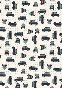 Lewis & Irene - City Nights A292.1 Black cab silver
