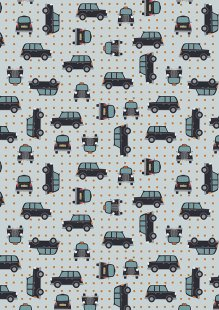 Lewis & Irene - City Nights A292.2 Black cab copper