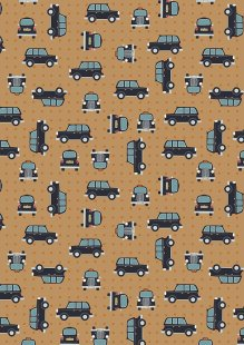 Lewis & Irene - City Nights A292.3 Black cab copper on copper