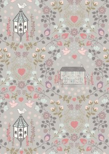 Lewis & Irene - Dove House A165.3 - Dove house on warm grey