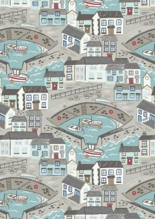 Lewis & Irene - Harbour Side A175.1 - Harbour with aqua sea