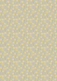 Lewis & Irene - Flo's Little Florals FLO3.2 - Daffodils On Natural