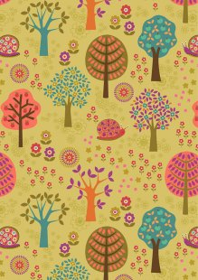 Lewis & Irene - Flower Child A434.2 Groovy forest multi