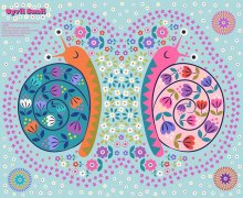 Lewis & Irene - Flower Child A504 Cyril the snail