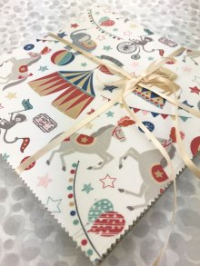 Lewis & Irene Scrumptious Squares Charm Pack - Vintage Circus