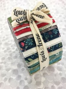 Lewis & Irene Fabulous Forties Jelly Roll - Home Sweet Home