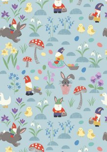 Lewis & Irene - Jolly Spring A339.3 Jolly egg hunt on spring blue