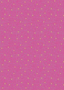 Lewis & Irene - Lindos A269.2 - Pink little tiles