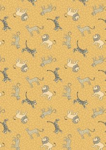 Lewis & Irene - Panthera A333.1 Little big cats on lion yellow