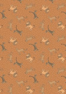 Lewis & Irene - Panthera A333.3 Little big cats on tiger orange