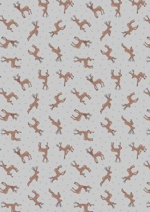 Lewis & Irene - Small Things Country Creatures ASM11.1 Deer grey