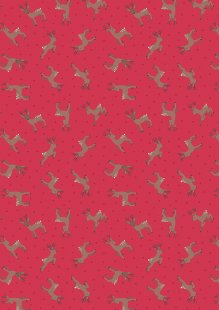 Lewis & Irene - Small Things Country Creatures ASM11.3 Deer red
