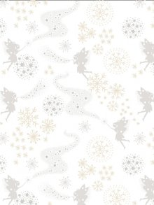 Lewis & Irene - Make A Christmas Wish CHR6.3 Little Fairies on Snow (Metallic)