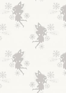 Lewis & Irene - Make A Christmas Wish CHR7.3 Fairies on Snow (Metallic)