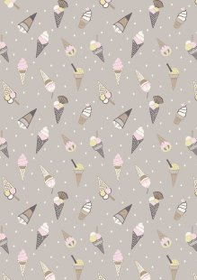 Lewis & Irene - Picnic In The Park A154.3 Ice cream cones on grey