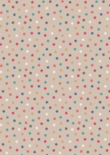 Lewis & Irene - Vintage Circus A144.1 Little stars natural