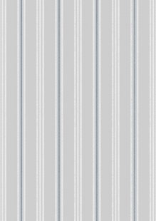 Lewis & Irene - Thalassophile A464.2 Coastal stripe on light grey