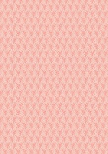 Lewis & Irene - Thalassophile A465.1 Shells on coral pink