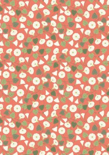 Lewis & Irene - The Hedgerow A254.2 - Granny-pop-out-of-beds On Peachy Coral