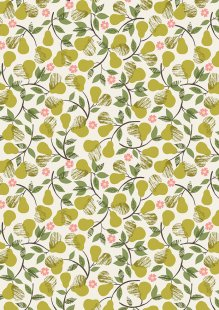 Lewis & Irene - The Orchard A498.1 Pears on cream