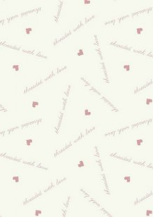 Lewis & Irene - Threaded With Love A181.1 - Pink Threaded With Love