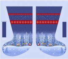 Lewis & Irene - Tomten's Christmas CE3 Stocking panel