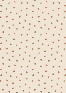 Lewis & Irene - Under The Oak Tree A395.1 - Clover on cream