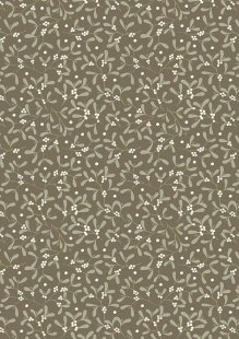 Lewis & Irene - Winter In Bluebell Wood C43.2 Mistletoe on dark taupe